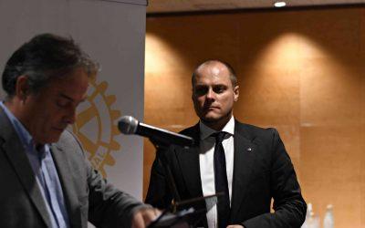 Marc Enric Payra Roig, nou president de Rotary Club de Girona